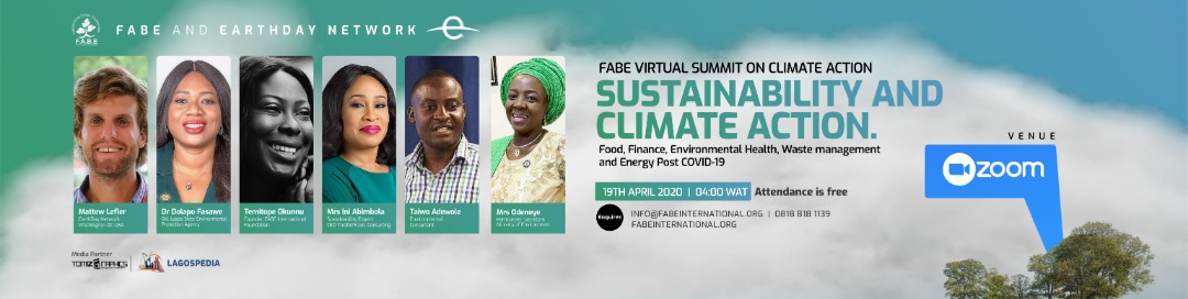 FABE Virtual Summit on Climate Change 2020