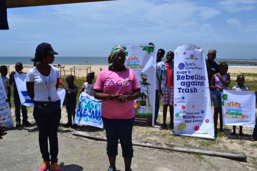 Good Samaritan Beach Clean up September 17, 2016