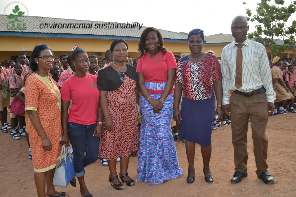 Opebi Grammar School Lassa Fever Sensitization - February 24, 2016
